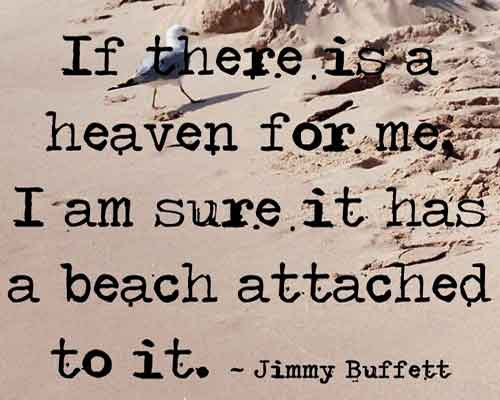 Quote from Jimmy Buffett